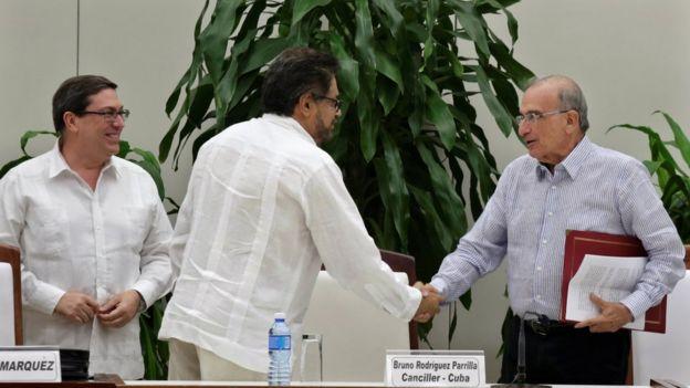 Negociaciones en La Habana