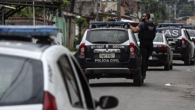 Operação policial na Cidade de Deus