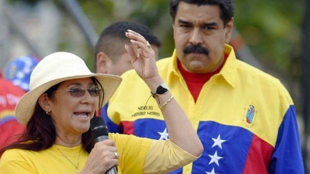Cilia Flores, diputada venezolana y esposa del presidente Nicolás Maduro