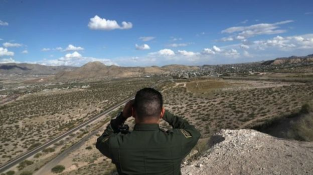 Frontera EEUU México