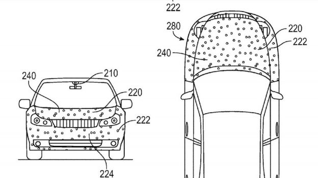 Google patents 'sticky car' to reduce crash injuries ilicomm Technology Solutions