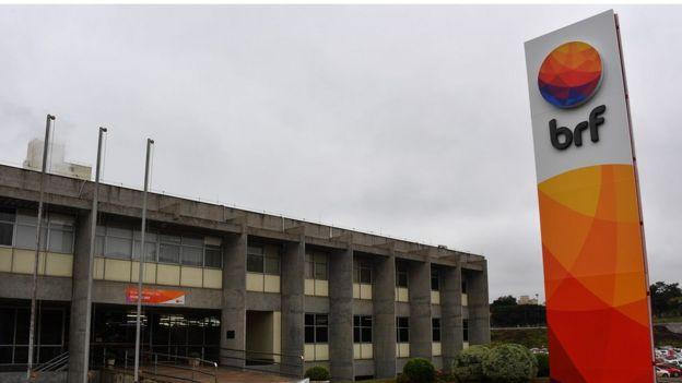 Oficina de BRF en Chapecó, Santa Catarina