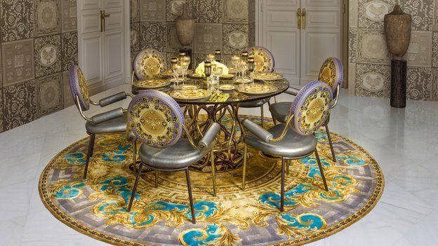 Versace dining room