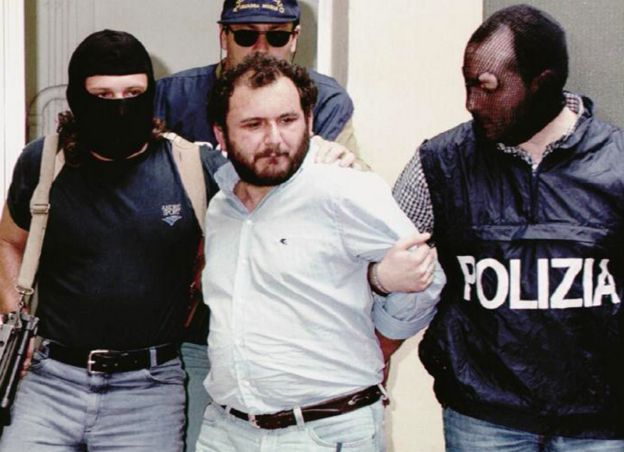 Arrest of Brusca, 1996