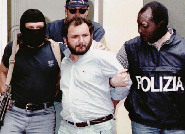 Arrest of Brusca, 1996