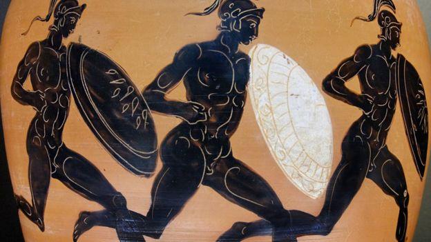 Atletas de Grecia antigua