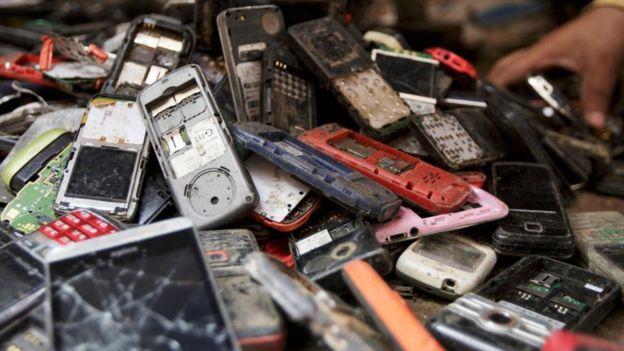 Old smart phones