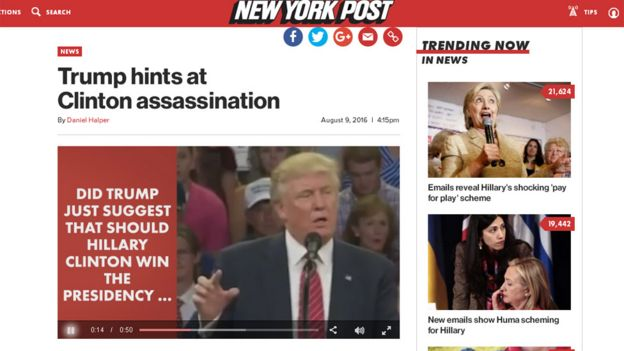 Screen grab from New York Post