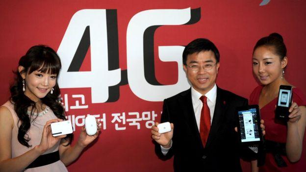 4G en Corea del Sur