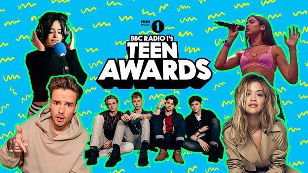 Radio 1 teen awards poster
