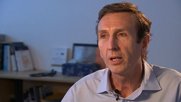 Dr Keith McNeil, Addenbrooke's Hospital