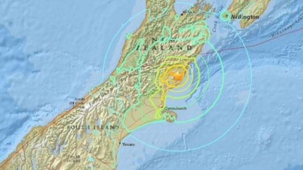 Infografía del terremoto proporcionada por el Servicio Geológico de Estados Unidos (USGS).