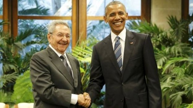 US President Barack Obama and Cuba