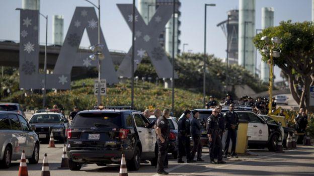 Agentes de policía de Los Ángeles