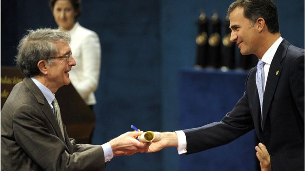 Howard Gardner recebe o Prêmio Príncipe de Astúrias