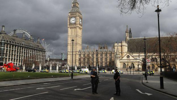 London, Westminster, teroris