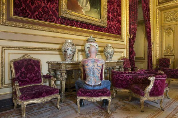 Tim Steiner at the Louvre in Paris