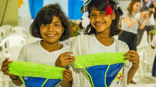 El invento latinoamericano que revolucion� la menstruaci�n de miles de ni�as