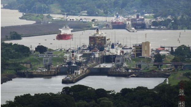 La nueva ampliación del Canal de Panamá duplicará la capacidad de carga de la vía acuática del paso.