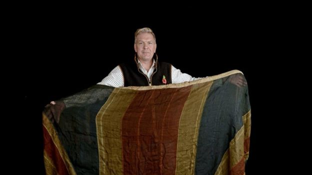 Roland Elworthy, senior valuer with the flag