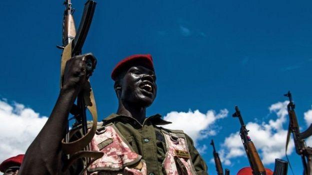 Vikosi vittifu kwa rais Salva Kiir vilikabiliana na vikosi vya aliyekuwa makamu wake Riek Machar