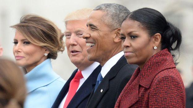 Trump, Obama, USA
