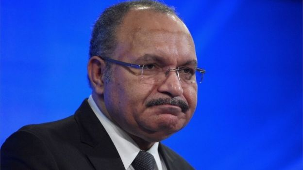 Papua New Guinea PM Peter O'Neill