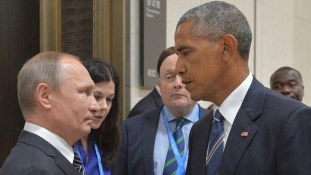 El presidente de Estados Unidos, Barack Obama, dijo el viernes que tomará represalias contra las acciones de Rusia.
