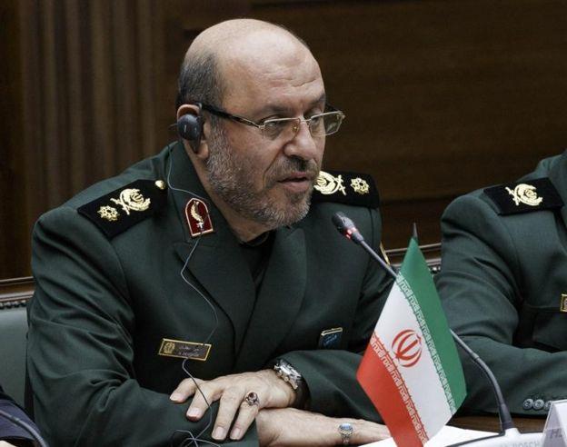 El ministro de Defensa de Irán, Hossein Dehghan
