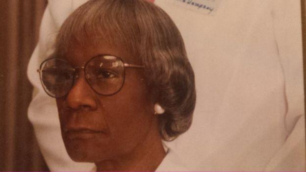 Shirley Chisholm durante sus años finales.