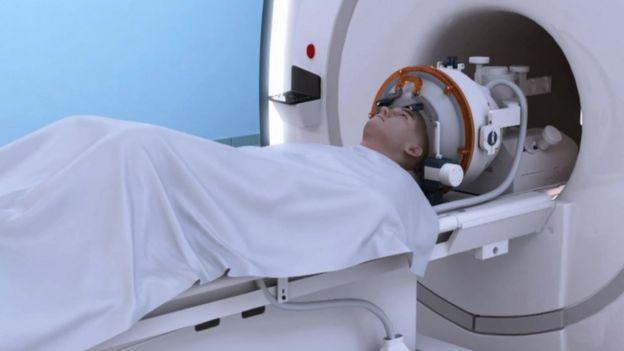 Máquina de ultrasonido