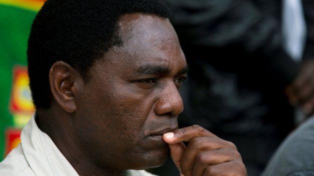 Hakainde Hichilema wa chama cha UPND Zambia