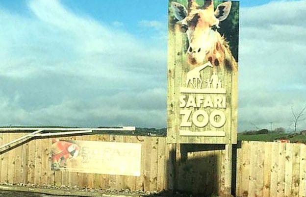 El zoo South Lakes Safari, en Cumbria, Inglaterra.
