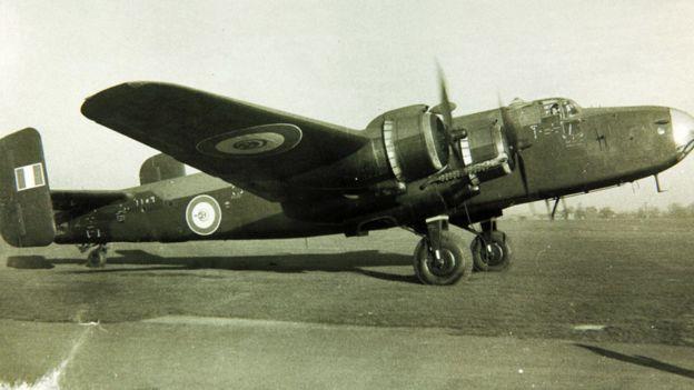 A Halifax bomber