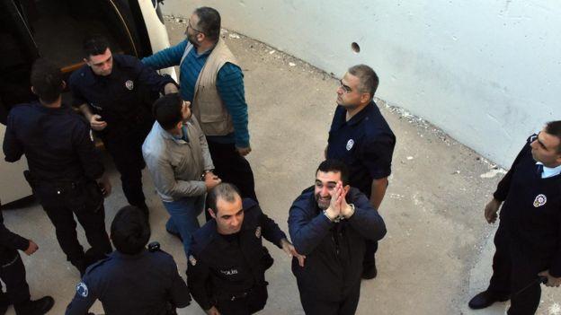 Darbe girişimine katıldığı iddia edilen tutuklu askerler