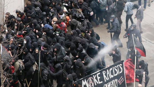 Protesta en Washington D.C.
