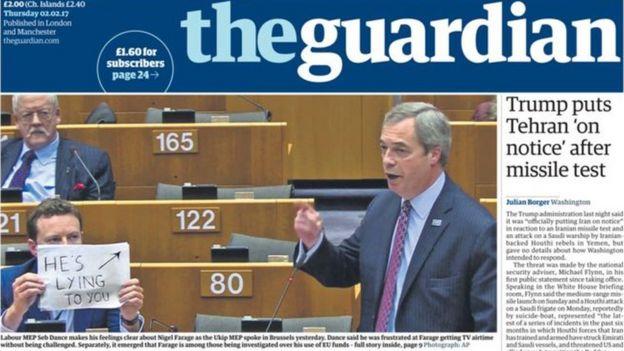 Guardian gazetesi