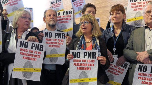 Protestos contra o acordo PNR de 2012