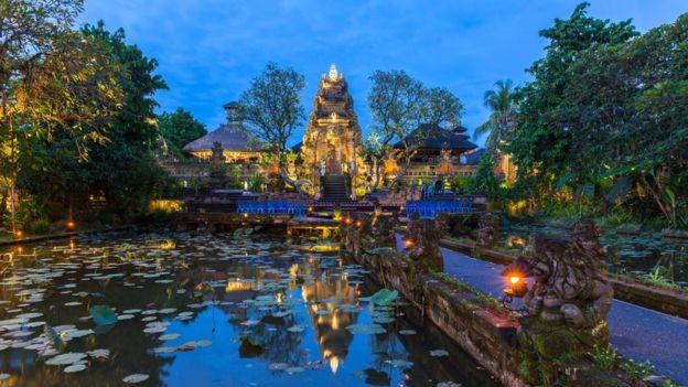 Templo de Pura Saraswati, Bali