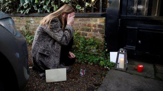 Fã de George Michael em Londres