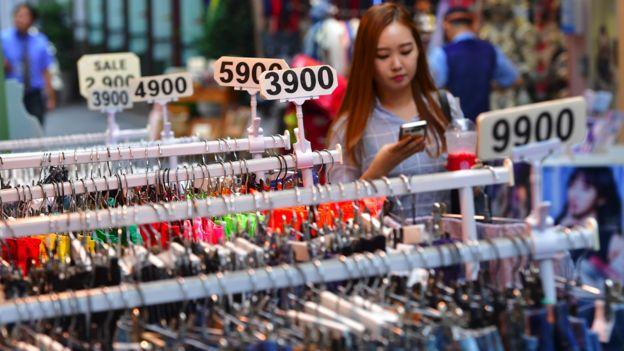 Cənubi Koreyada mağazalar