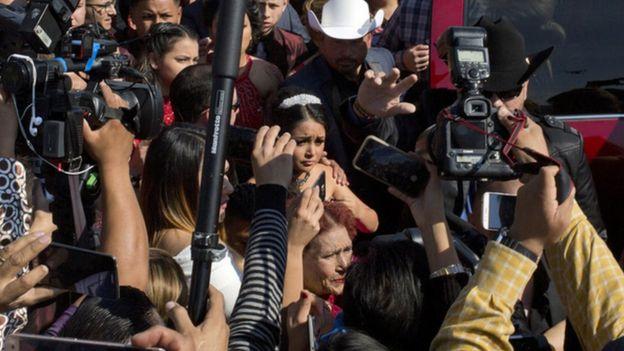 Mexique: un anniversaire à 1,3 million d'invités