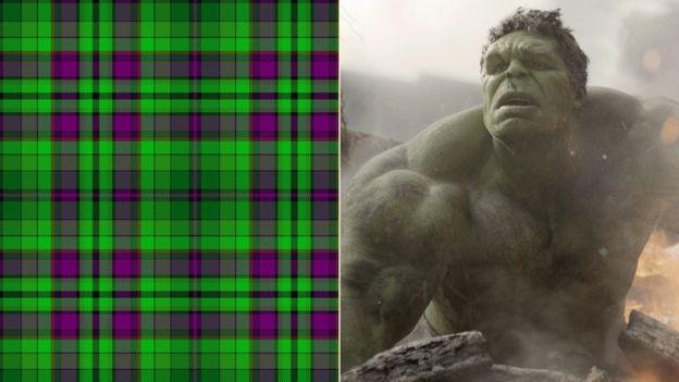 Tartan and the Hulk
