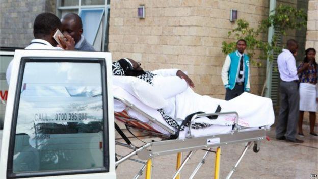injured student at Strathmore