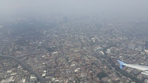 Mexico. pollution