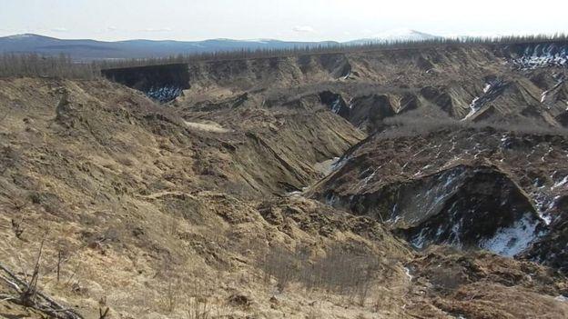 Cratera de Batagaika