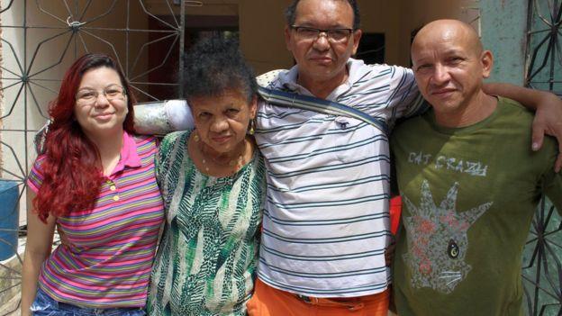 Família de Ari Ribeiro