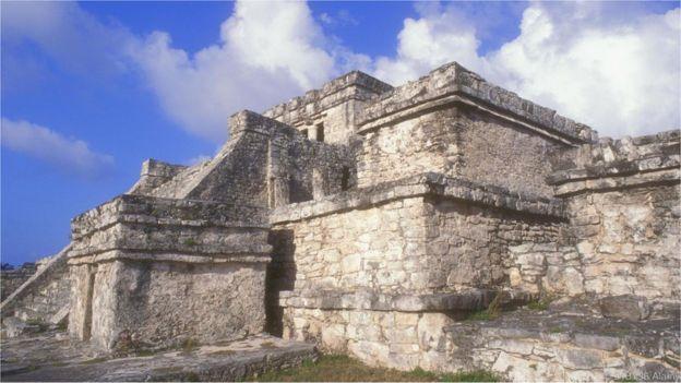 Templo maia no México