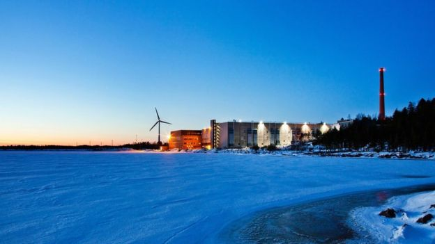 Google data centre Finland