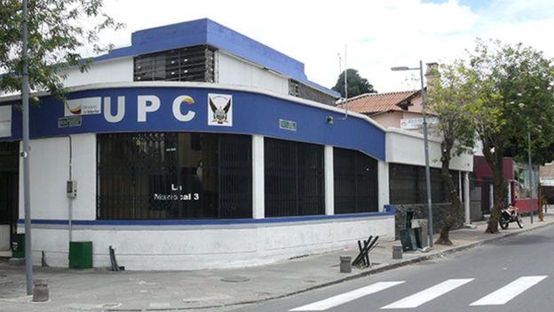 Comisaría en La Mariscal
